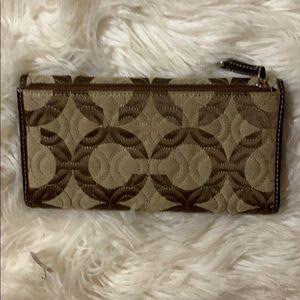 Coach Bags - Brown Coach wallet